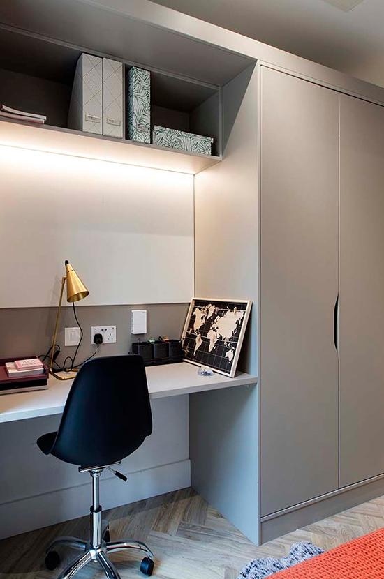 Zinzan Cork street FF&E From Here Office desk furniture