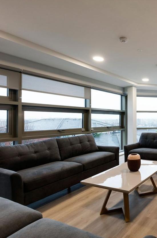 brickworks lane student living room