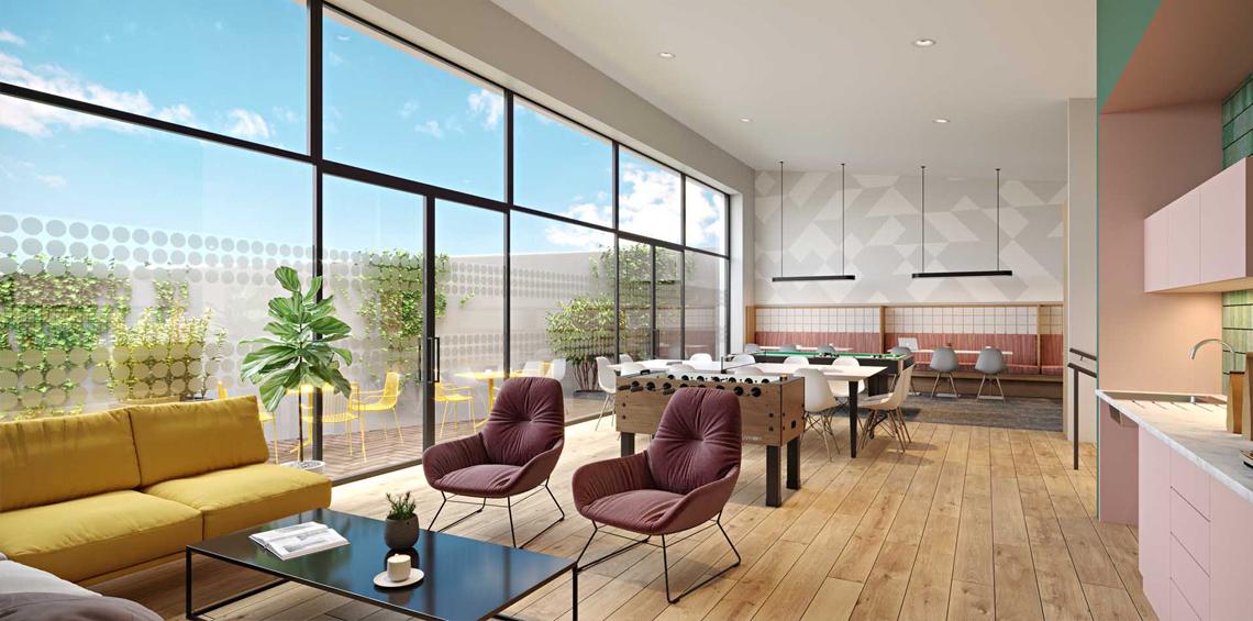 Highfield House Residents Lounge